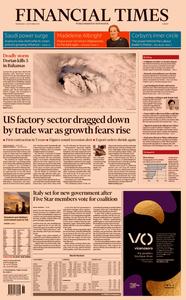 Financial Times Europe – 04 September 2019