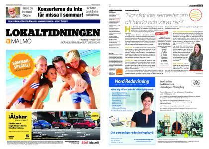 Lokaltidningen Malmö Villa – 20 juli 2019
