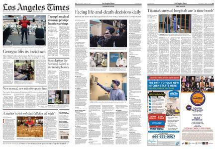 Los Angeles Times – April 25, 2020