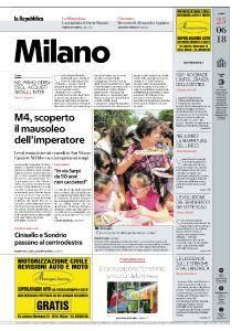 la Repubblica Milano - 25 Giugno 2018