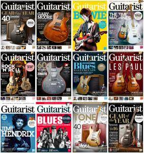 Guitarist - 2016 Full Year Issues Collection