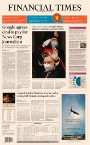 Financial Times Europe - February 18, 2021
