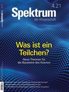 Spektrum der Wissenschaft – 20 März 2021