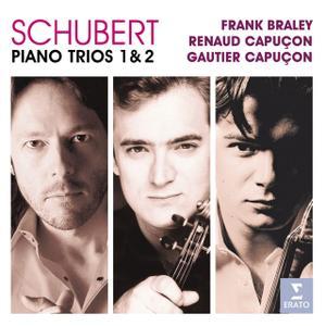 Frank Braley, Gautier Capuçon, Renaud Capuçon - Schubert: Piano Trios Nos. 1 & 2 (2007)