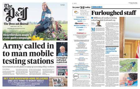 The Press and Journal Moray – April 27, 2020
