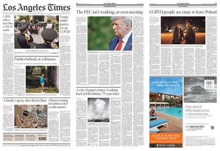 Los Angeles Times – August 07, 2020