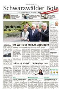 Schwarzwälder Bote Albstadt-Ebingen - 18. April 2019