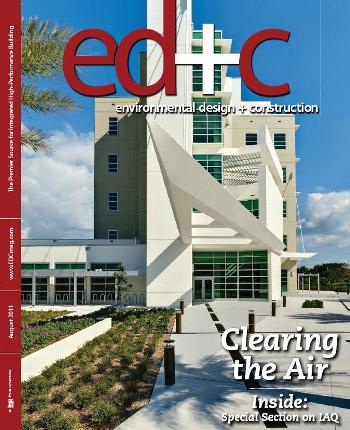 Environmental Design + Construction - August 2011