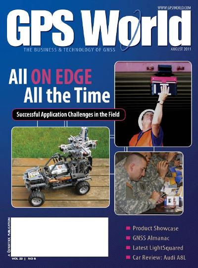 GPS World - August 2011