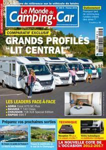 Le Monde du Camping-Car - janvier 2018