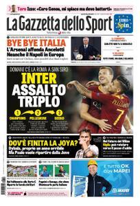 La Gazzetta dello Sport Roma – 19 aprile 2019