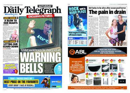 The Daily Telegraph (Sydney) – March 31, 2018