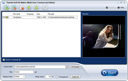 ThunderSoft GIF Maker 2.7.0