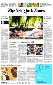 International New York Times - 05 June 2018