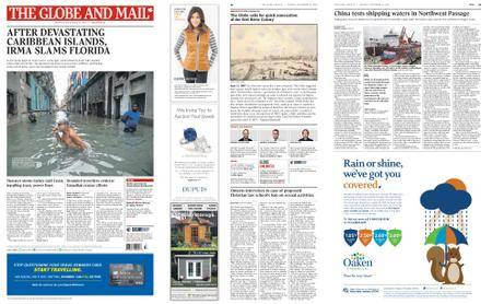 The Globe and Mail – September 11, 2017