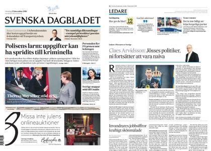 Svenska Dagbladet – 12 december 2018