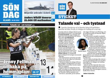 Ålandstidningen – 30 juni 2019