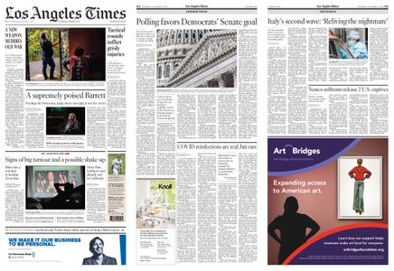 Los Angeles Times – October 15, 2020
