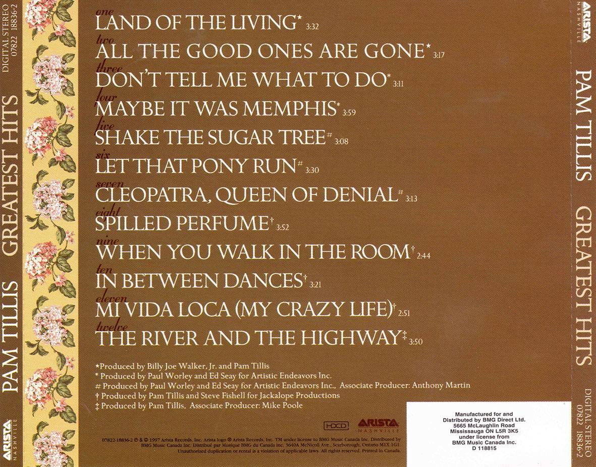 Pam Tillis Greatest Hits 1997 Avaxhome