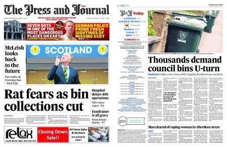 The Press and Journal Moray – February 17, 2018