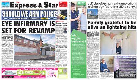 Express and Star City Edition – August 21, 2019
