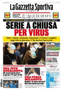 La Gazzetta dello Sport – 23 febbraio 2020