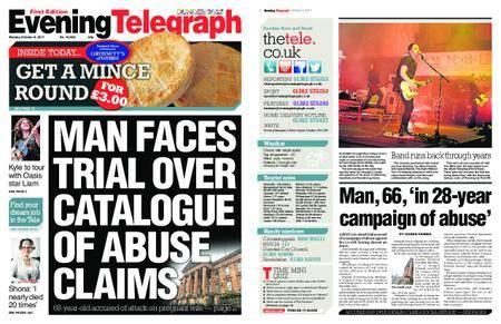 Evening Telegraph First Edition – October 09, 2017