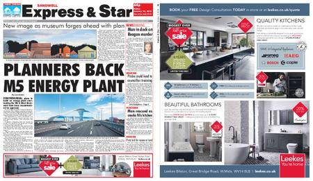 Express and Star Sandwell Edition – January 12, 2018