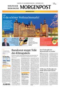 Solinger Morgenpost – 30. November 2019