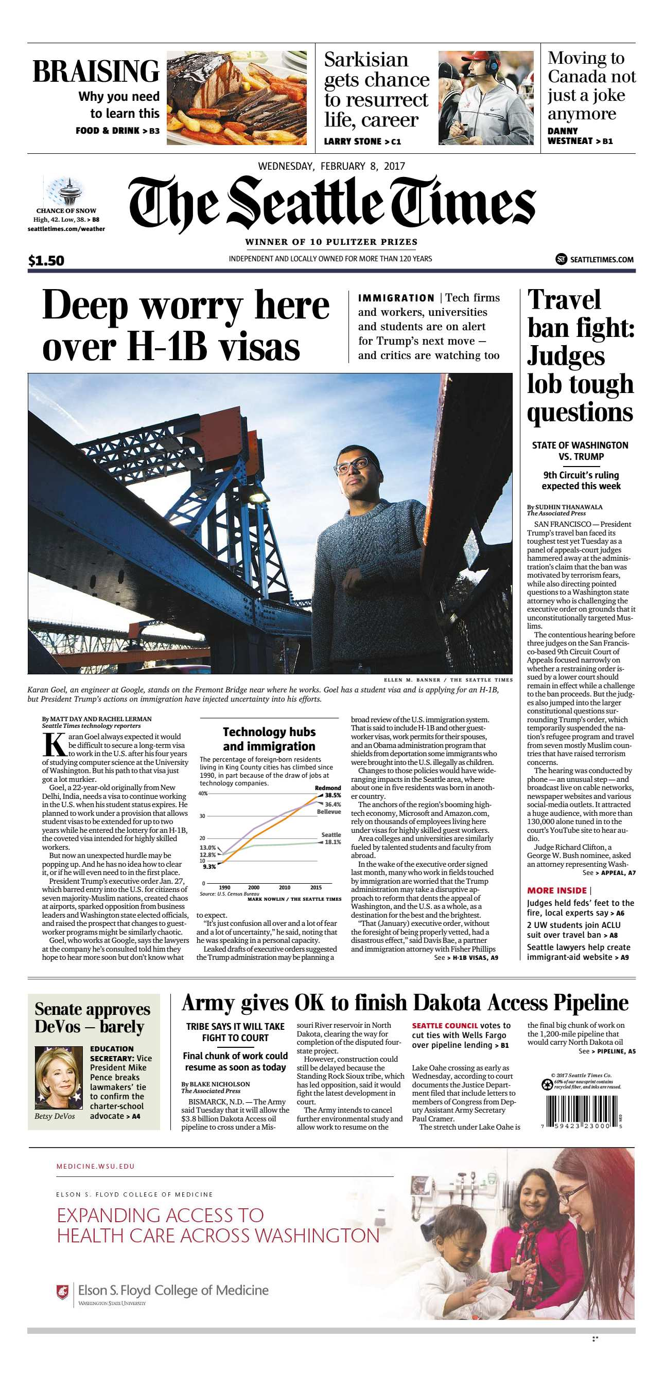 The Seattle Times  February 08 2017