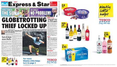 Express and Star City Edition – August 23, 2019