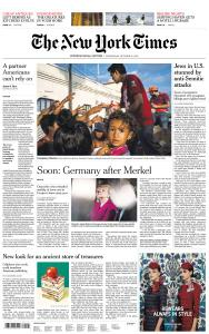 International New York Times - 31 October 2018