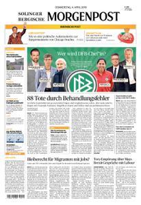 Solinger Morgenpost – 04. April 2019