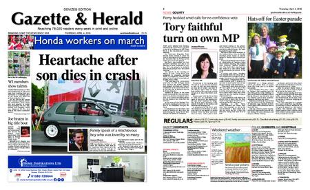 Gazette & Herald – April 04, 2019