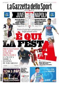 La Gazzetta dello Sport Roma – 24 agosto 2019
