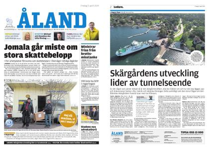 Ålandstidningen – 05 april 2019