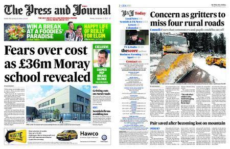 The Press and Journal Moray – November 13, 2017