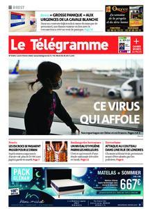 Le Télégramme Brest – 03 février 2020
