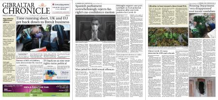 Gibraltar Chronicle – 23 October 2020