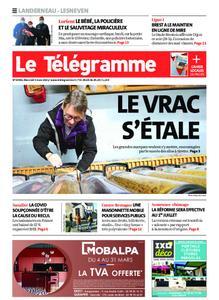 Le Télégramme Landerneau - Lesneven – 03 mars 2021
