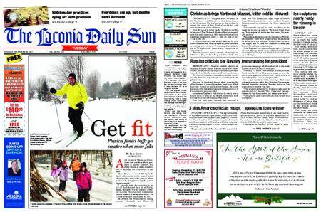 The Laconia Daily Sun – December 26, 2017
