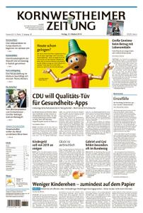 Kornwestheimer Zeitung - 12. Oktober 2018