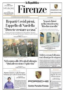 la Repubblica Firenze - 24 Ottobre 2020