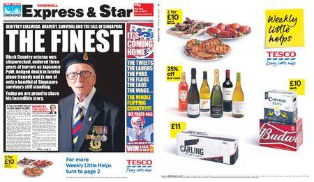 Express and Star Sandwell Edition – July 05, 2018