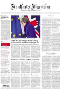 Frankfurter Allgemeine Zeitung F.A.Z. - 26. November 2018
