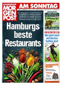 Hamburger Morgenpost – 15. September 2019