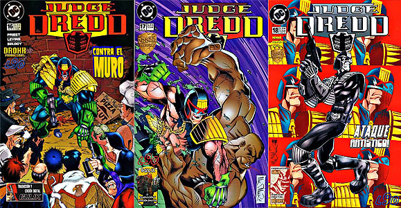 Judge Dredd #16 to 18 (1995-96)