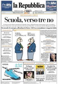 la Repubblica - 29 Febbraio 2020