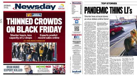 Newsday – November 28, 2020