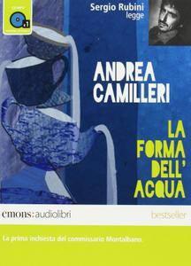 """Andrea Camilleri, """"La forma dell'acqua"""""""